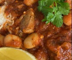 Rima's Fasoulyeh with meat