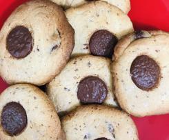 """Bodie's """"Big head"""" choc chip cookies (GF)"""