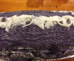 Purple Yam Cake Roll
