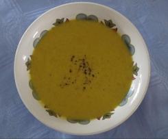 Broccoli, Carrot & Sweet Potato Soup