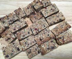 Nut free muesli bars