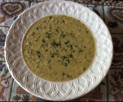 Low FODMAP Vegan Zucchini Soup