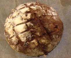 "Sourdough Walnut Bread (converted from Dan Lepard ""The Handmade Loaf"")"