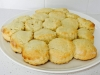 Light and fluffy lemonade scones