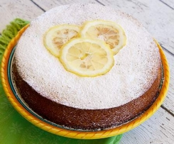 Gluten Free Lemon, Almond and Mascarpone Cake
