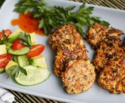 Chicken and Veggie Patties