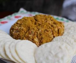 Curry Cheese Ball Dip