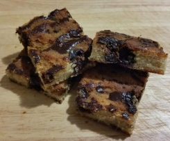 Coconut Choc Chunk Bars (Gluten, Dairy and Refined Sugar Free)