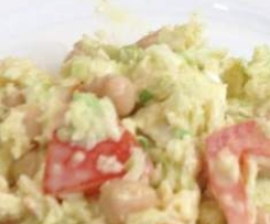Cabbage and Chickpea salad