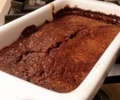Paleo Chocolate Self Saucing Pudding