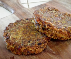 Easy Vegan Bean Burgers