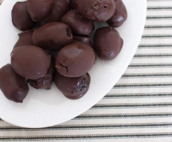Chocolate and prune Easter eggs