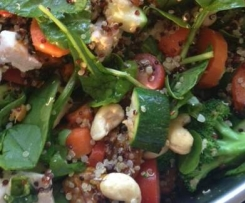 Warm Chicken, Quinoa & Pumpkin Salad