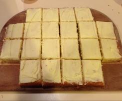 Zucchini and Orange Slab Cake