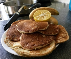 Thick n Fluffy Banana Pancakes
