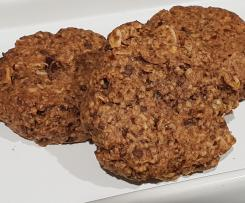 'I just want a Cookie' Sugar and Dairy free Choc Oat Cookies