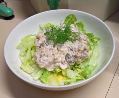German Tuna Salad = fresh and delicious