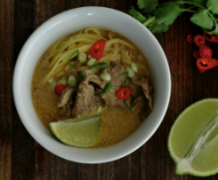 Thai Chiang Mai Beef Noodles