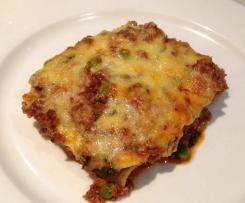 Bechamel free lasagne