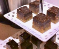 Vegan Caramel Slice