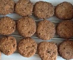 Gluten Free Choc Nut Cookies