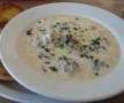 BLUFF OYSTER SOUP