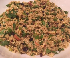 Spiced Brown Rice Salad