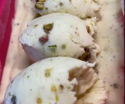 Rima's Lebanese pistachio ice cream