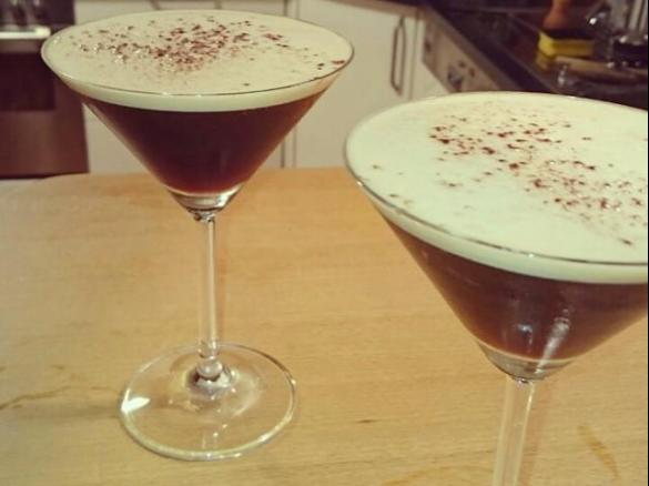 Espresso Martini By Sarahw256 A Thermomix Sup Sup Recipe In The Category Drinks On Www Recipecommunity Com Au The Thermomix Sup Sup Community