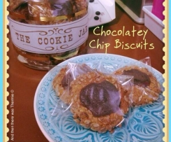 GF Chocolatey Chip Biscuits