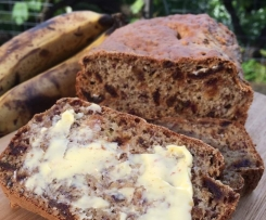 Perfect Banana & Date Loaf (can be egg free/dairy free)