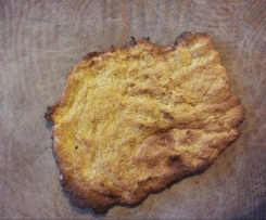 Pumpkin pizza base or flat bread (paleo, gluten free, dairy free, grain free)