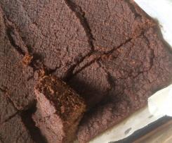 Paleo Choc Zucchini Brownie