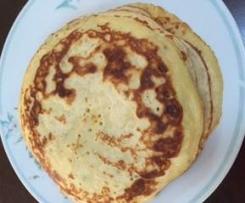 Banana Yoghurt Pancakes