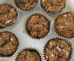 Banana Date Oatmeal muffins