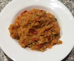 Creamy Chicken and Tomato Risotto
