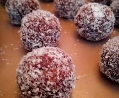 Guilt-free vegan Chocolate Balls