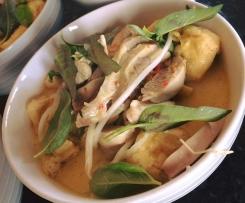 Malaysian Chicken Laksa