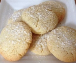Lemon Semolina Biscuits