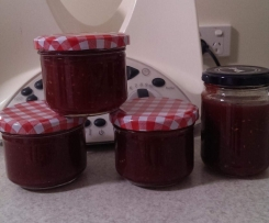 Peach, Lime & Raspberry Jam