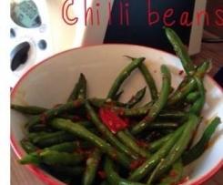 Chilli green beans