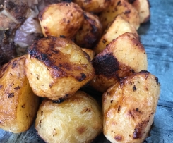Oven Roasted Greek Potatoes