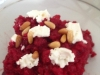 Beetroot Risotto with Persian Feta and Pine Nuts . . . HOWEZAT!