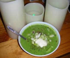 Pea, Bacon & Potato Soup