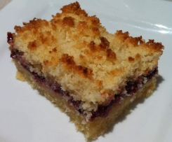 Easy Raspberry & Coconut Slice
