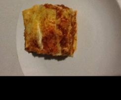 GF chicken lasagna