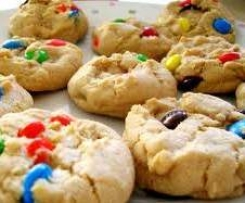 Favourite M&M Cookies