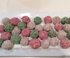 Christmas Chocolate Balls