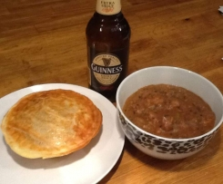 Beef & Guinness Pie filling or Stew
