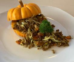 Mince Chow Mein with Pumpkin